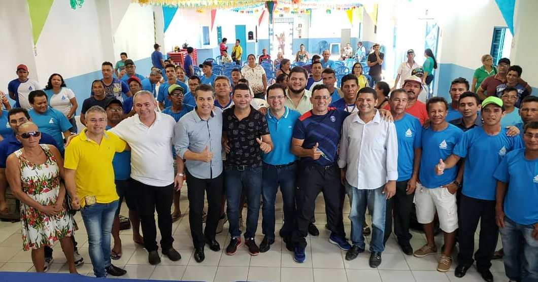 Pré-candidato ao Senado, Coronel Osmar ouve pescadores da Z-20 em Santarém, Coronel Osmar na Z-20