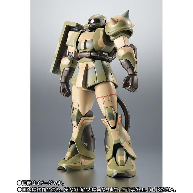 ROBOT魂 《機動戰士鋼彈MSV》〈SIDE MS〉 MS-06J 溼地戰用薩克(湿地帯戦用ザク) ver. A.N.I.M.E.【魂商店】