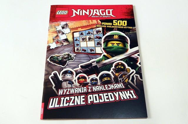 LEGO® NINJAGO®. Wyzwania z naklejkami. Uliczne pojedynki (1)