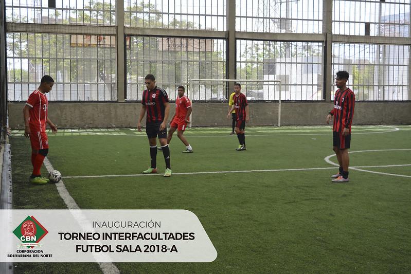 Torneo Interfacultades Fútbol Sala 2018A
