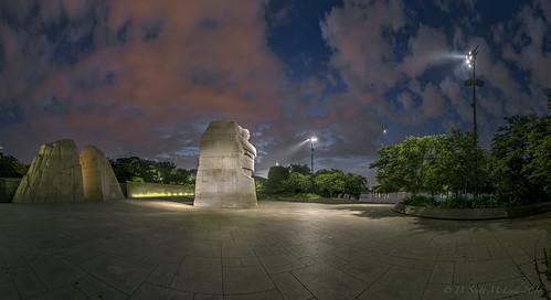 Martin Luther King Jr. Memorial, Dawn Pano