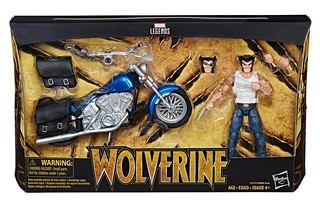 跟機車一起登場,狼叔整個Man 爆啦~~! 孩之寶 漫威傳奇系列 6吋收藏人物與交通載具【金鋼狼】Marvel Legends Series 6-inch-scale figures and vehicles Wolverine