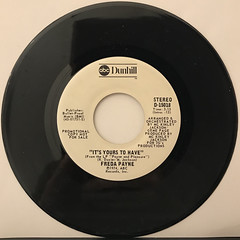 FREDA PAYNE:IT'S YOURS TO HAVE(RECORD SIDE-A)