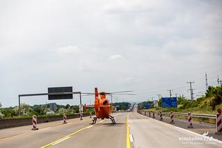 Überschlag Pkws A3 Raunheim 27.05.18
