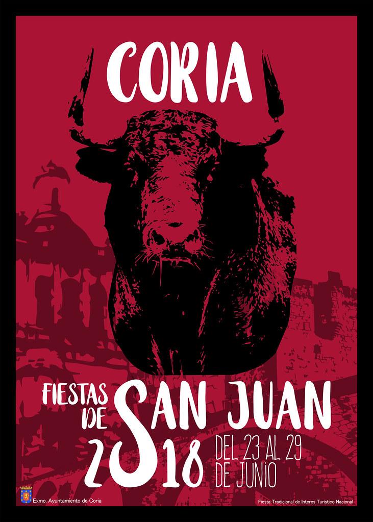 Cartel Oficial de las Fiestas de San Juan 2018