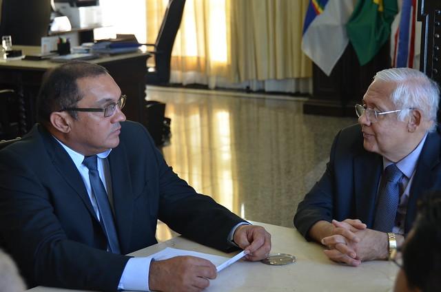 Reunião do PGJ com o presidente do TJPE