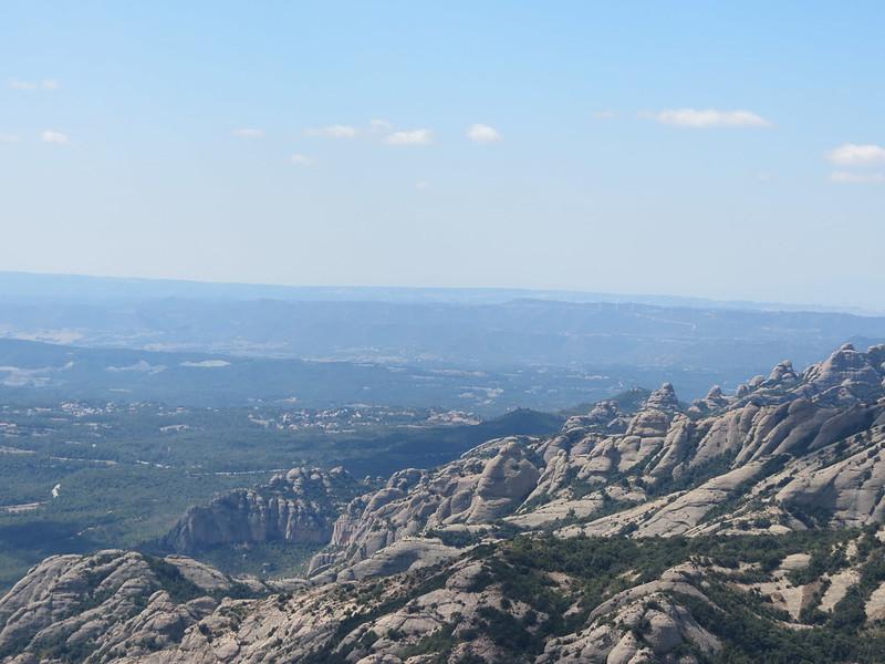 Mirador de Sant Jeroni: vista cap a El BrucIMG_2640