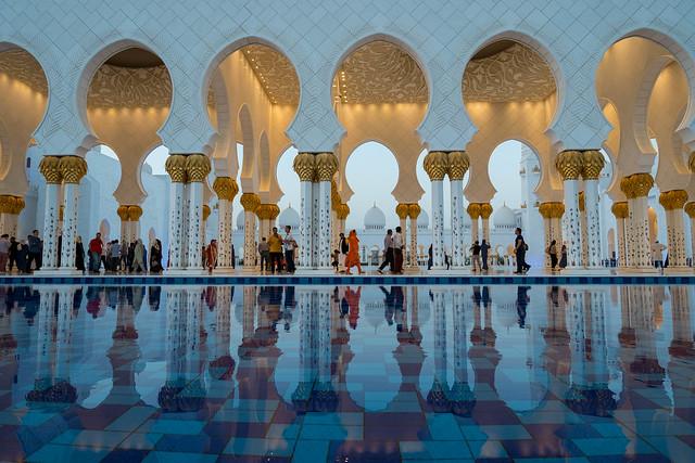 Sheikh Zayed Grand Mosque, Fujifilm X-Pro1, XF14mmF2.8 R
