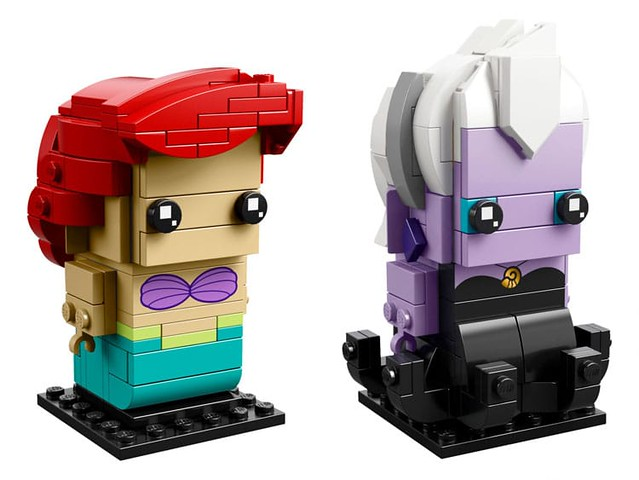 LEGO 41623 BrickHeadz Ariel & Ursula 4