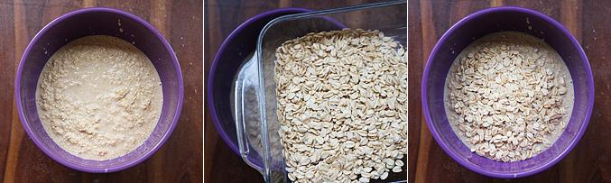 How to make baked oatmeal bars - Step3