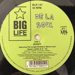 DE LA SOUL:BUDDY, MAGIC NUMBER(LABEL SIDE-A)