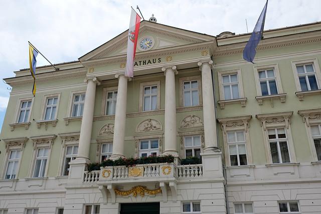 Rathaus, Baden bei Wien, Austria