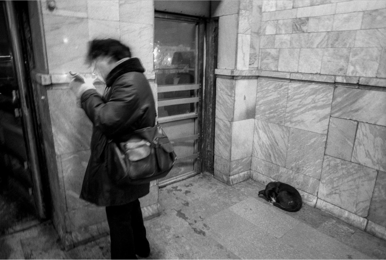 Омск. На железнодорожной станции