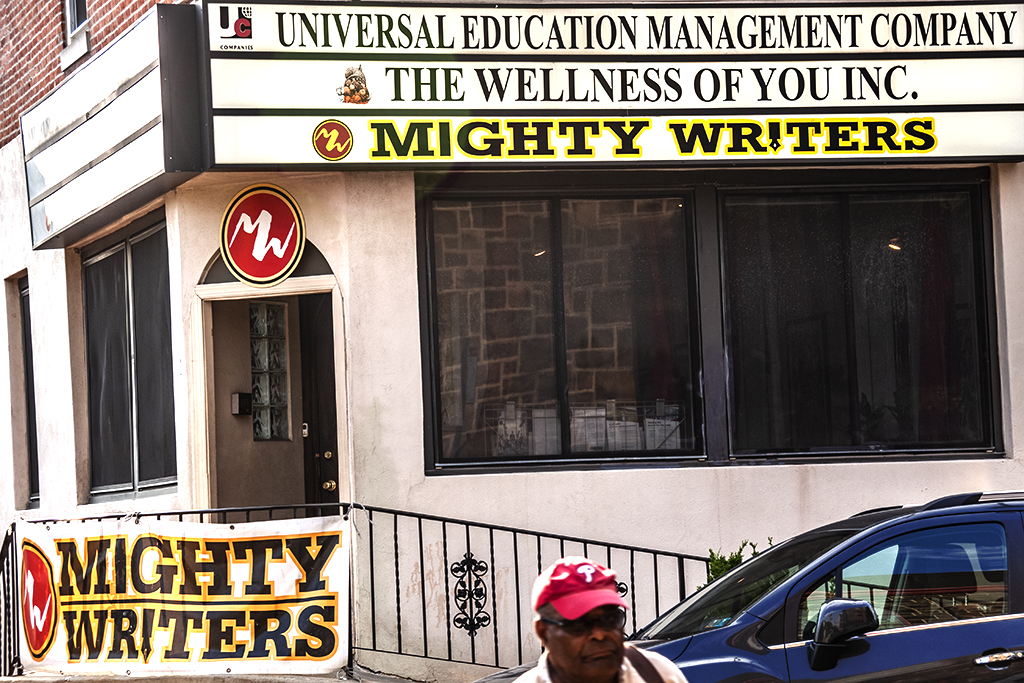 MIGHTY WRITERS on 6-7-18--Graduate Hospital
