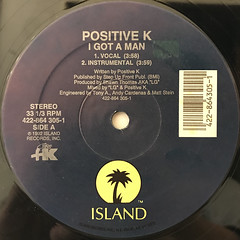 POSITIVE K:I GOT A MAN(LABEL SIDE-A)