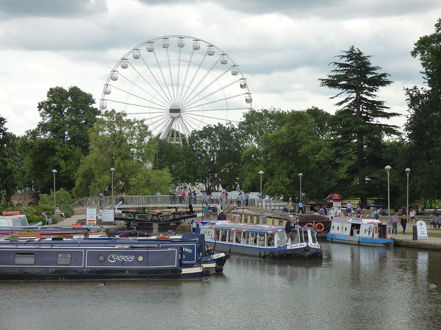Stratford-upon-Avon Big Wheel - Canal & River Tours - Jennifer May at Bancroft Basin