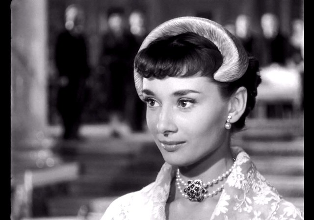 Audrey Hepburn, Roman Holiday, 1953