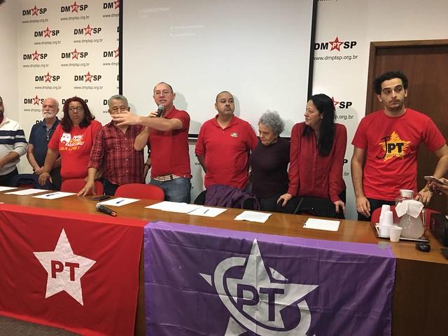 Lançamento da pré-candidatura de Lula pelo PT - Créditos: Rute Pina