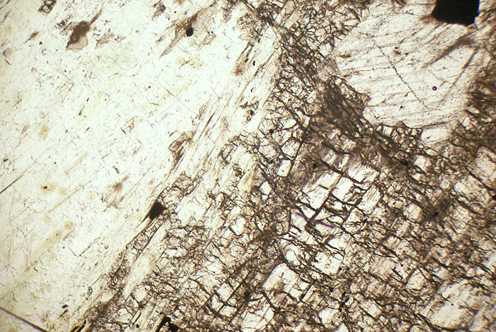 Chrome Diopside Skarn Finland Thin Section Microscope ...