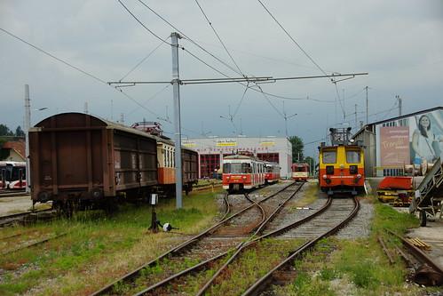 Abgestellte Fahrzeuge in Vorchdorf