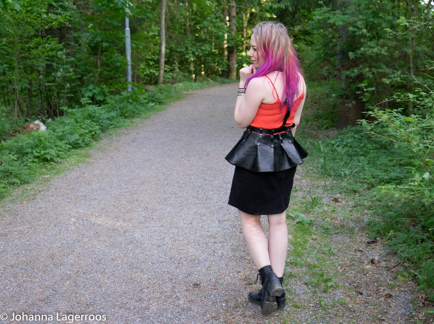 etsy peplum harness