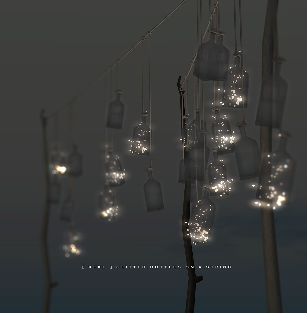 [ keke ] bottled light on a string