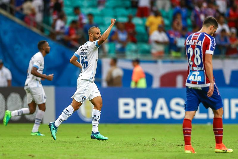 Outra oportunidade aproveitada por Thaciano (Foto  Lucas Uebel Grêmio FBPA) 1be535d539e