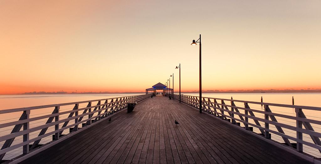 Sunrise @ Shorncliffe Pier