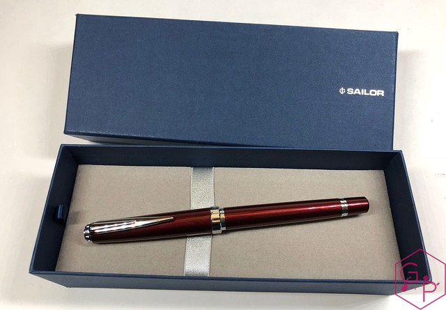 Sailor Reglus Fountain Pen Review @ThePenCompany  2