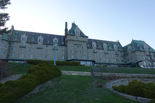 Back exterior at Fairmont Le Manoir Richelieu. From History Comes Alive: Eight Noteworthy Places to Stay