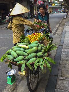 Shopping in Hanoi by Deb Gibson
