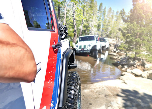 Test pneu tire KM3 BFGoodrich USA jeep off road avec Cars Passion
