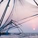 Chinese fishing nets, Kochi, India by Kristaaaaa
