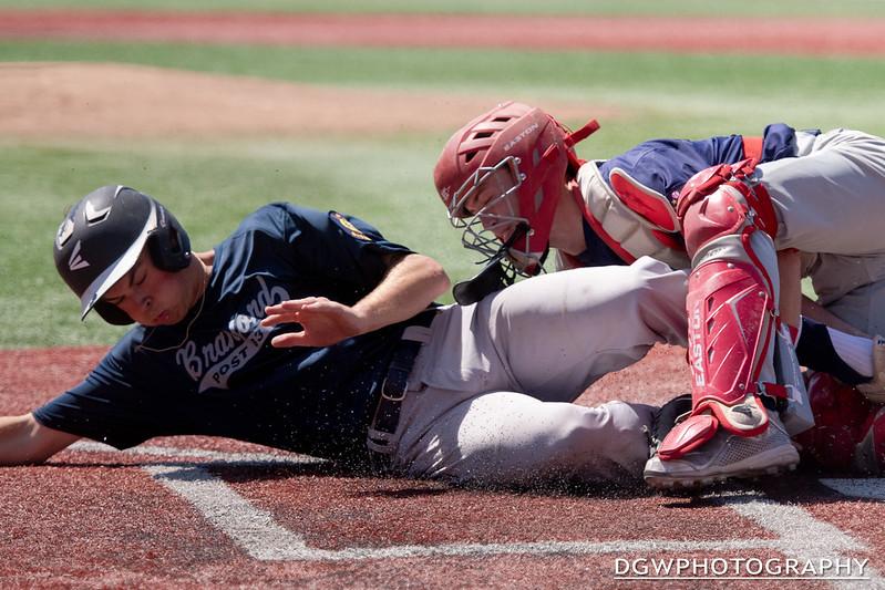 Startford vs. Branford - American Legion Baseball