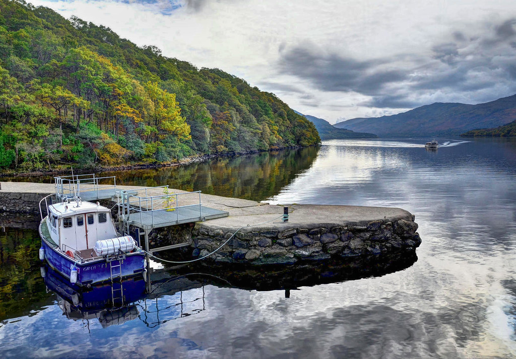 Loch Lomond, Scotland. Credit Baz Richardson, flickr
