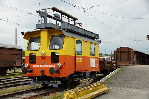 Fahrleitungswagen in Vorchdorf