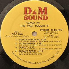 THE VAST MAJORITY:MOVE IT!(LABEL SIDE-B)