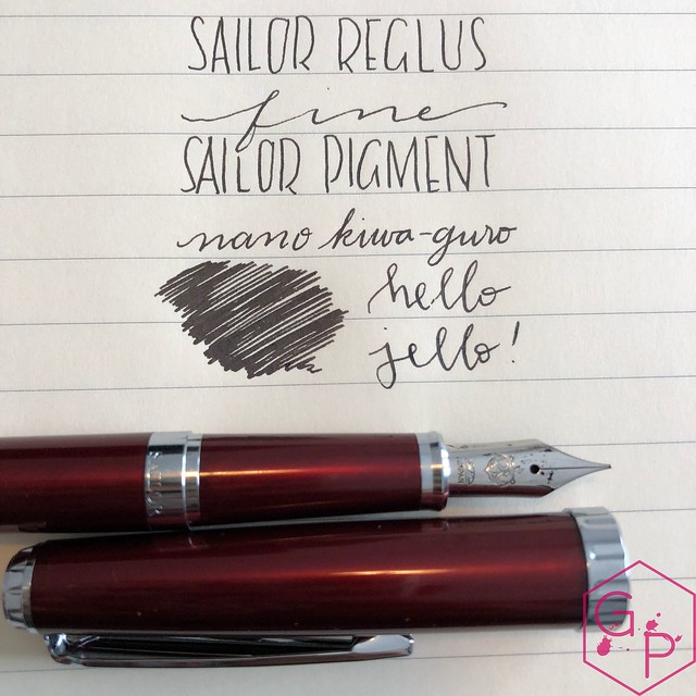 Sailor Reglus Fountain Pen Review @ThePenCompany  1