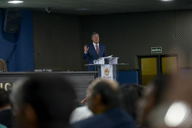 07.06.18 Antecipação - Prefeito abre 1º Jornada de encontro de vereadores do Amazonas