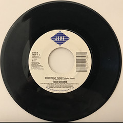 TOO SHORT:SHORT BUT FUNKY(RECORD SIDE-B)