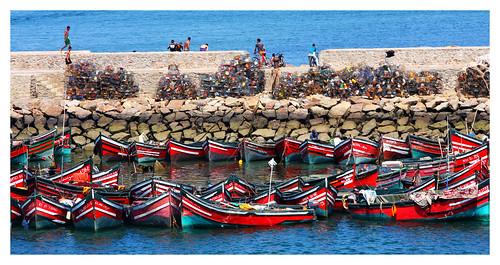 El Jadida Morocco Picture : Le port de El-Jadida -