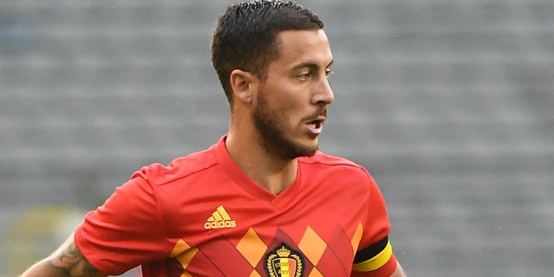 Respons Pelatih Belgia Tidak Cemas Lihat Eden Hazard Cedera