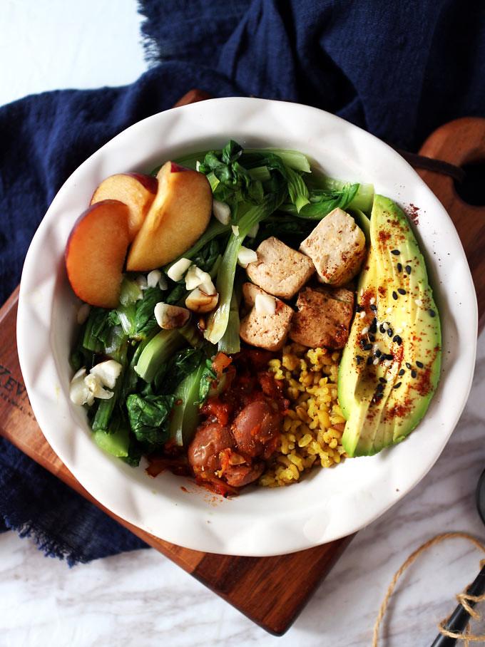簡易素食羅漢齋 vegan-easy-buddha-bowl (2)