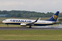 EI-FRK B737-8AS WL Ryanair Prestwick 09.06.18