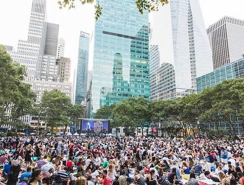 Bryant Park. From Where to Find Free Summer Movies in New York