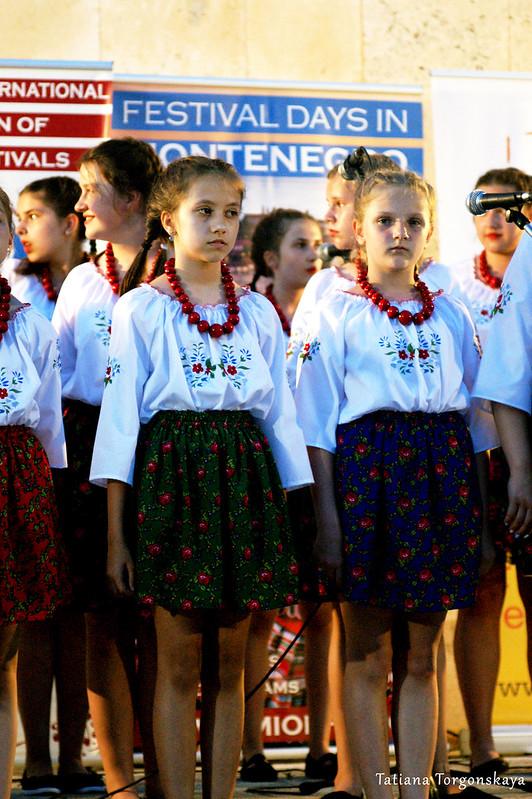 Хор девочек из Польши
