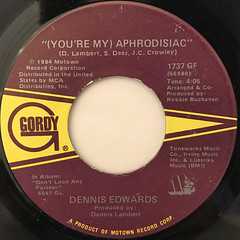 DENNIS EDWARDS:(YOU'RE MY)APHRODISIAC(LABEL SIDE-A)