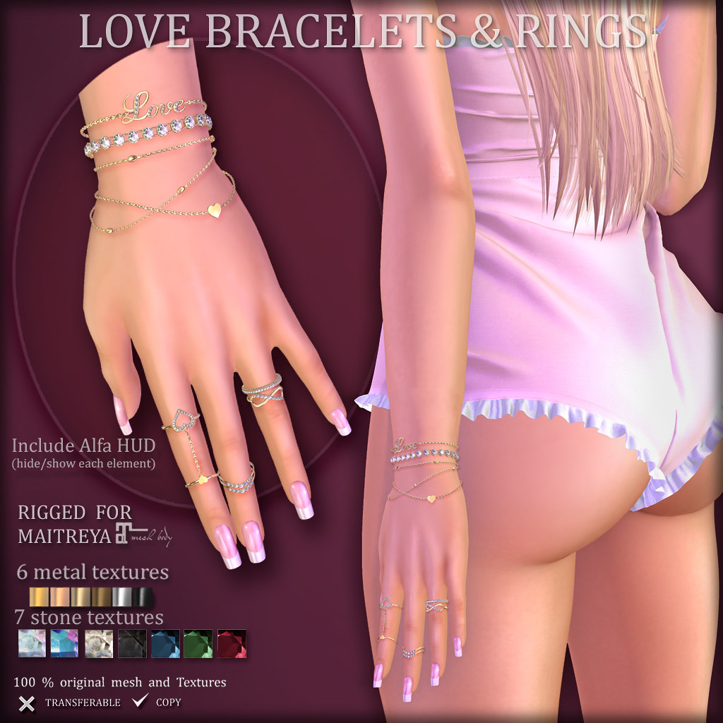LOVE Bracelet & Rings (SOON at BLUSH)