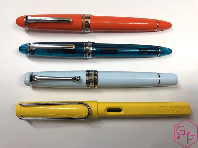 Sailor 1911 Large Royal Tangerine Fountain Pen Review @PenChalet 15