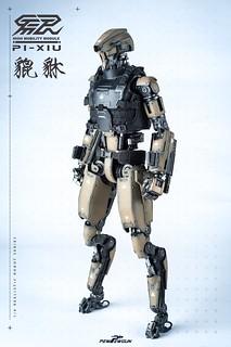 PEW PEW GUN 1/6比例 機械人型素體-高機動模組:貔貅 & 配件包